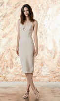 Again Collection - Dylan Pencil Dress in Neutral