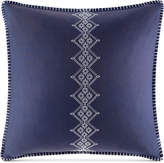 Echo Cotton Shibori Embroidered European Sham Bedding
