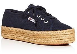 Superga Women's Cotropew Low-Top Platform Sneakers