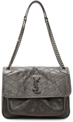 Saint Laurent Grey Medium Niki Bag
