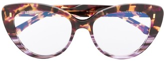 Cutler & Gross Cat Eye Tortoise-Shell Glasses