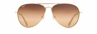 Maui Jim Mavericks with Patented PolarizedPlus2 Lenses Polarized Aviator Sunglasses