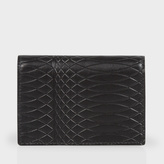 Paul Smith No.9 - Black Leather Credit Card Wallet