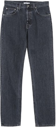 Helmut Lang High Waisted Straight Jeans