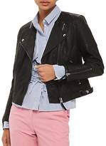 Topshop PETITE Luna Biker Jacket