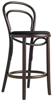Design Within Reach Era Counter Stool with Upholstered Seat