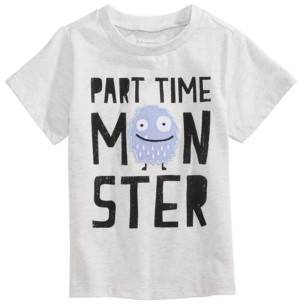 First Impressions Toddler Boys Part-Time Monster T-Shirt, Created for Macy's