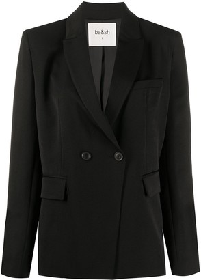 BA&SH Plain Single Breasted Blazer