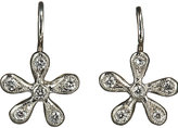 Cathy Waterman Women's Pave Diamond Medium Daisy Earrings