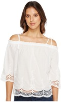 Lucky Brand Eyelet Top Women's Clothing
