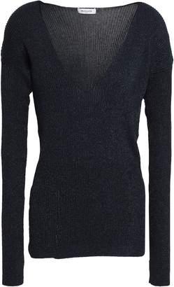 Thierry Mugler Ribbed-knit Top