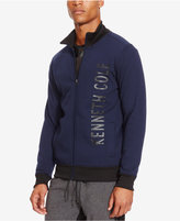 Kenneth Cole Reaction Men's Fleece Logo Jacket
