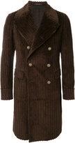 Tagliatore corduroy double-breasted coat