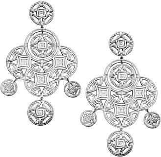 Elle Reflections 925 Sterling Silver Chandelier Earrings