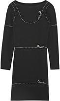 Moschino Printed cady mini dress