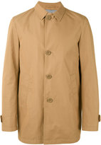 Herno single breasted coat - men - Cotton/Polyamide/Polyester/Modal - 46