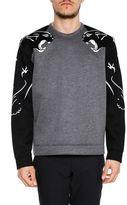 Valentino Panther Print Sweatshirt