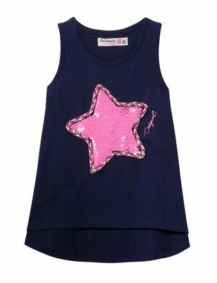 Desigual Girl's Knit T-Shirt Straps (ts_poolie)
