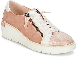 Hispanitas BORA BORA women's Shoes (Trainers) in Pink