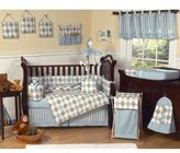 JoJo Designs Sweet Blue And Cocoa Argyle Changing Pad Cover