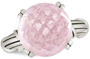 Peter Thomas Roth Rose Quartz Ring (12 ct. t.w.) in Sterling Silver