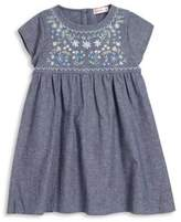 Design History Little Girl's Woven Chambray Dress