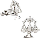 Cufflinks Inc. Men's Silver Scales of Justice Cufflinks
