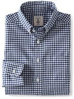 Classic Little Boys Poplin Shirt-Capri Seas Multi Check
