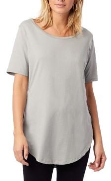 Alternative Apparel Organic Cotton Half Sleeve Women's Tunic
