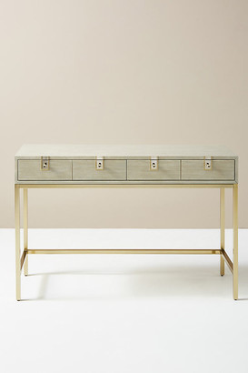 Anthropologie Ingram Console Table By in Grey Size ALL