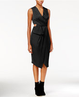 Rachel Roy Cutout Faux-Wrap Dress, Only at Macy's