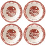 Johnson Bros. Twas the Night Cereal/Soup Bowls, Set of 4