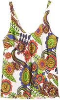 Thumbnail for your product : La Prestic Ouiston Camion Top in Mix Fiori Blanc