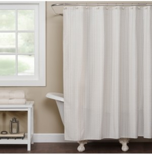 Saturday Knight Hopscotch Grid Shower Curtain Bedding