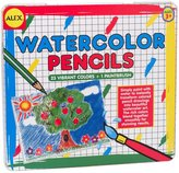 Alex Watercolor Pencils & Brush in a Tin Box Toy, Set of 23