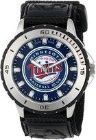 Game Time Men's MLB-VET-MIN Veteran Custom Minnesota Twins Veteran Series Watch