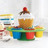 Sur La Table Ceramic Ice Cream Toppings Caddy