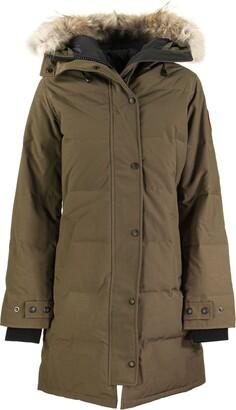 Canada Goose Shelburne Parka Military Green Jacket
