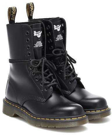 Marc Jacobs x Dr. Martens leather ankle boots