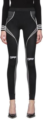 Off-White Black Active Arrows Leggings