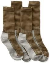 L.L. Bean Women's CoolMax Hiker Socks, Two-Pack
