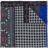 Etro printed paisley scarf - men - Wool/Yak - One Size