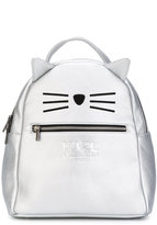 Karl Lagerfeld Choupette backpack - kids - Polyester/Polyurethane - One Size