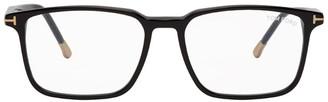 Tom Ford Black Blue Block Square Glasses