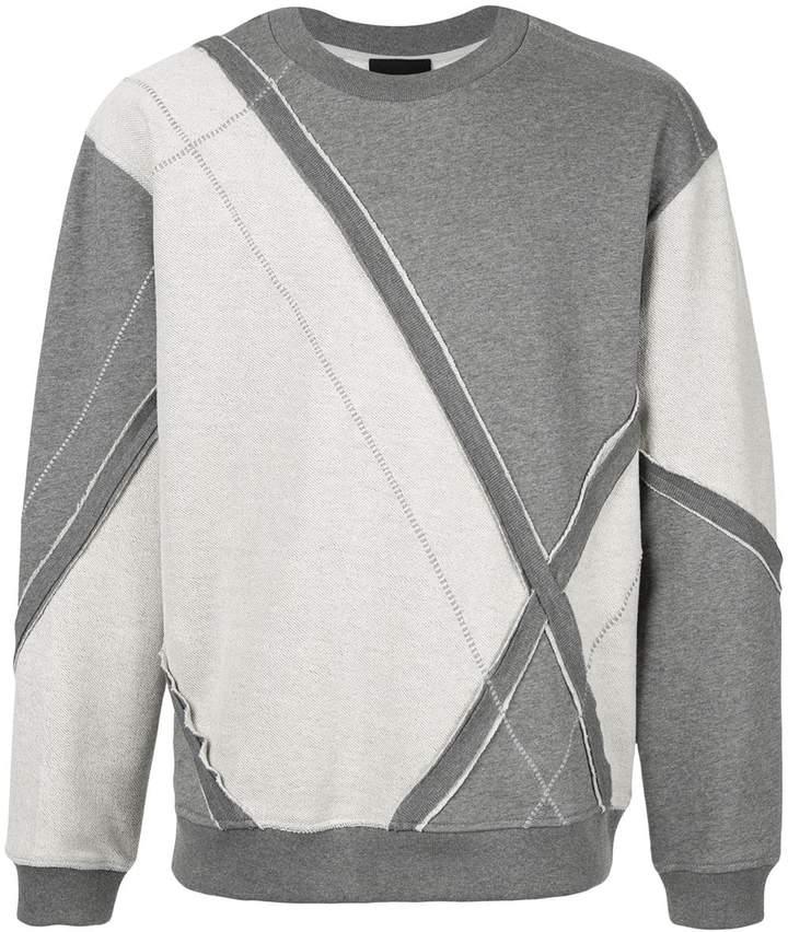 3.1 Phillip Lim diamond check sweatshirt