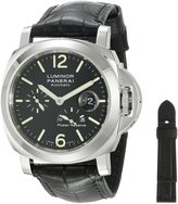 Panerai Men's PAM00090 Luminor Power Reserve Dial Watch