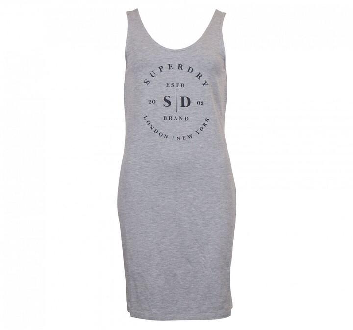 Superdry Sleeveless Logo Dress