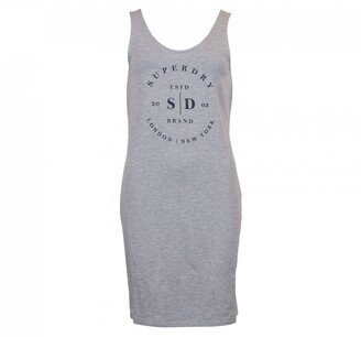 Superdry Sleeveless Logo Dress