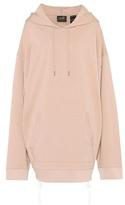 Fenty by Rihanna Oversized cotton-jersey hoodie