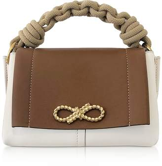 Anya Hindmarch Soft Leather and Smooth Rope Mini Bow Bag